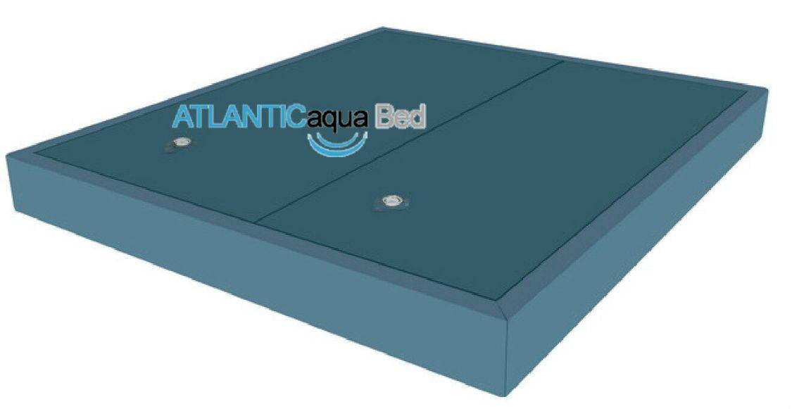 Wasserbett Matratze DUAL Set 2 Stück inkl. Trennwand Wasserkern Softside