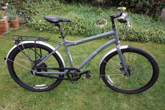 "Dahon 'Cadenza' 26"" wheel full size folding bike with ..."