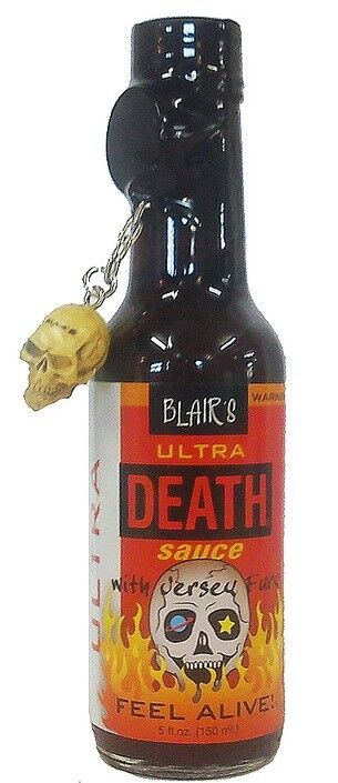 Blair´s Ultra Death Sauce scharfe Chilisauce rd. 800000 Scoville (12,99€/100 ml)
