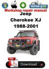 Jeep Cherokee XJ 1988-2001 Factory Workshop Repair Manual