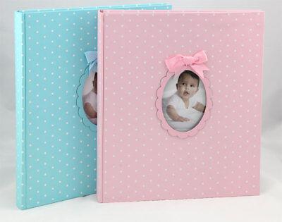 Young Child Fotoalbum 29x32 cm 60 weiße Seiten Baby Foto Album Fotobuch