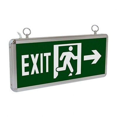 EXIT Schild LED Notbeleuchtung Fluchtwegleuchte Notleuchte Notausgang Links/Rech