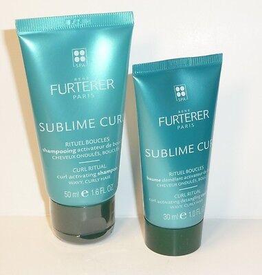 René Furterer Sublime Curl  Locken-Shampoo 50ml + Locken-Balsam 30ml
