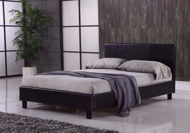 Est Offer Double King Size Leather Bed Frame Free