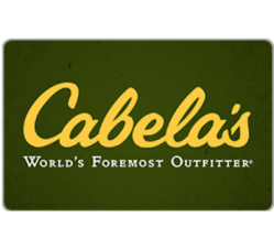 Get a $100 Cabela's Gift Card for only $85 - Fast Email delivery