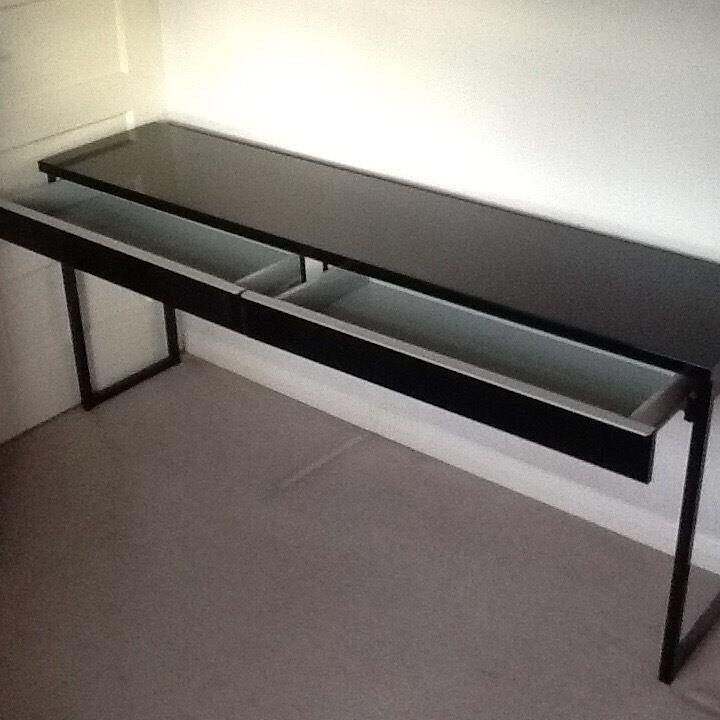 Ikea Besta Burs Desk Extra Long In Drumchapel Glasgow