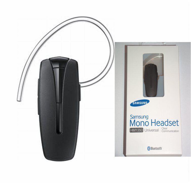 Original Samsung Bluetooth Headset HM1350 für Galaxy A3 A5 S5 S6 S7 Edge S8 Note