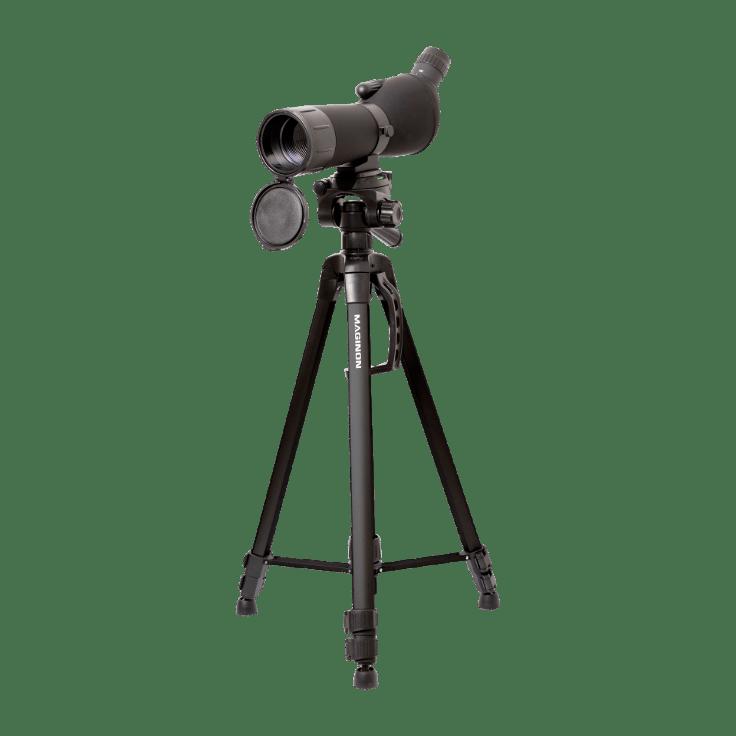 Maginon Spektiv mit Stativ 20–60×60 Stativ ca 156 cm hoch Erd Himmelsbeobachtung