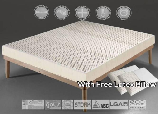 Brand New 7 Zone Organic 100 Natural Latex Topper Mattress Beds Gumtree Australia Ku Ring Gai Area Pymble 1157416949