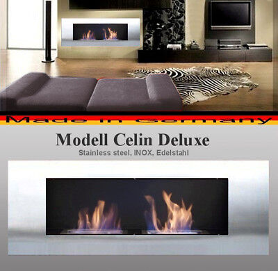XXL Fire place stainless steel Fireplace Cheminee Ethanol Gel Öppen spis τζάκι