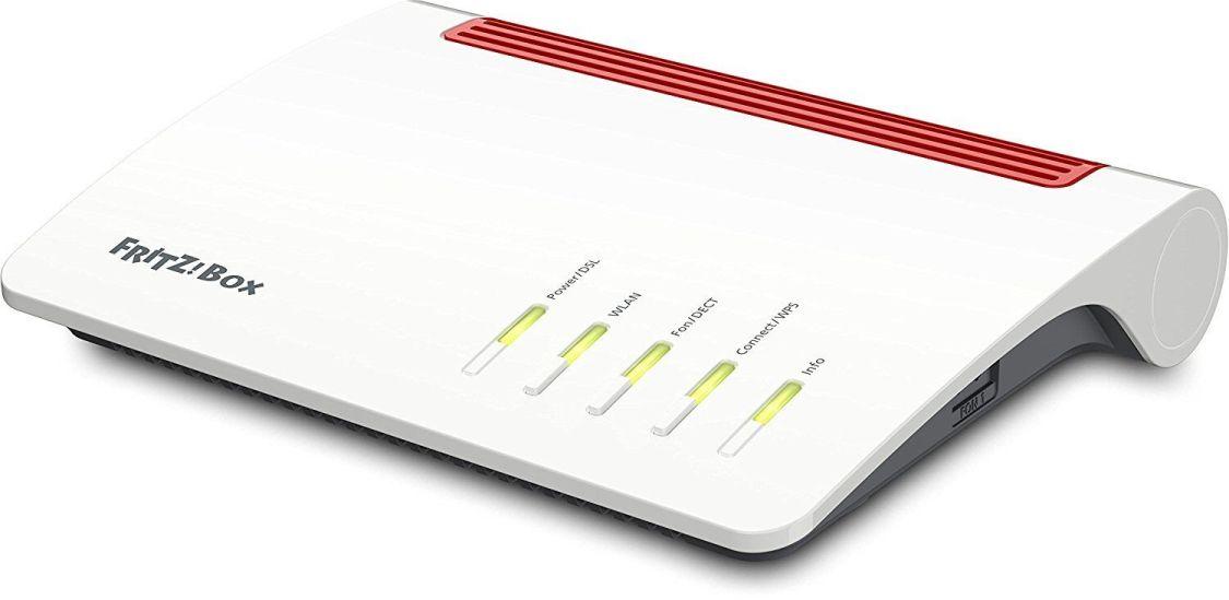 AVM FRITZ!Box 7590 DSL Modem & High End WLAN Router AC + N DECT Basis 800 Mbit/s