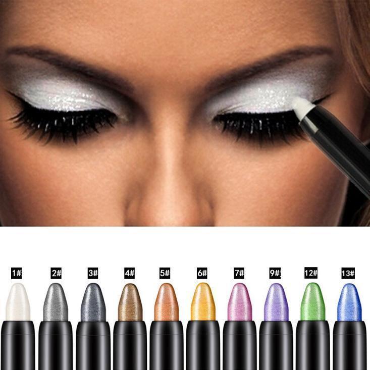 Pro Make-up Glitzer Highlighter Lidschatten-Stift Beauty Lidschatten Eyeliner