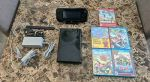 Nintendo Wii U 32GB Black Console with 5 games.
