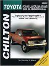 1989-1996 Tacoma Pickup Land Cruiser 4Runner Chilton Repair Service Manual 6826