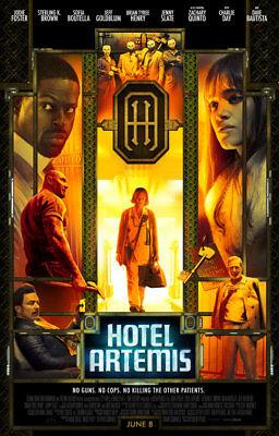 HOTEL ARTEMIS (2018) Original Authentic Movie Promo Poster 11x17 - Jodie Foster