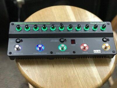 Trace Elliot Transit-B Bass Pre-amp & Effects Pedal, NEW