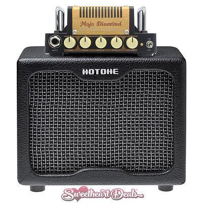 Hotone Nano Legacy Mojo Diamond Compact 5w Guitar Amp Half Stack w/ Cab