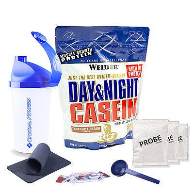 33,58€/kg Weider Day & Night Casein 500g Beutel + BONUS