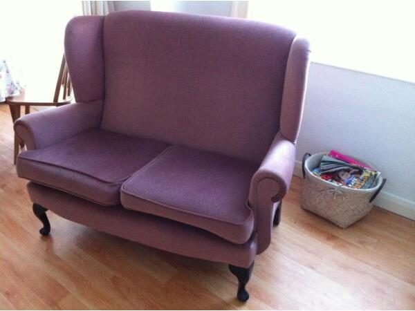 Vintage 2 seat sofa  Picture 2