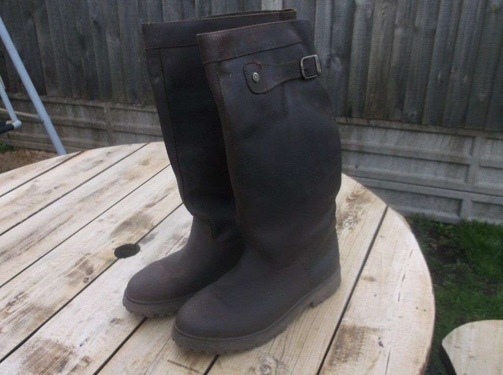 Cabotswood Wide Fitting Yard Shooting Boots Size 10 In