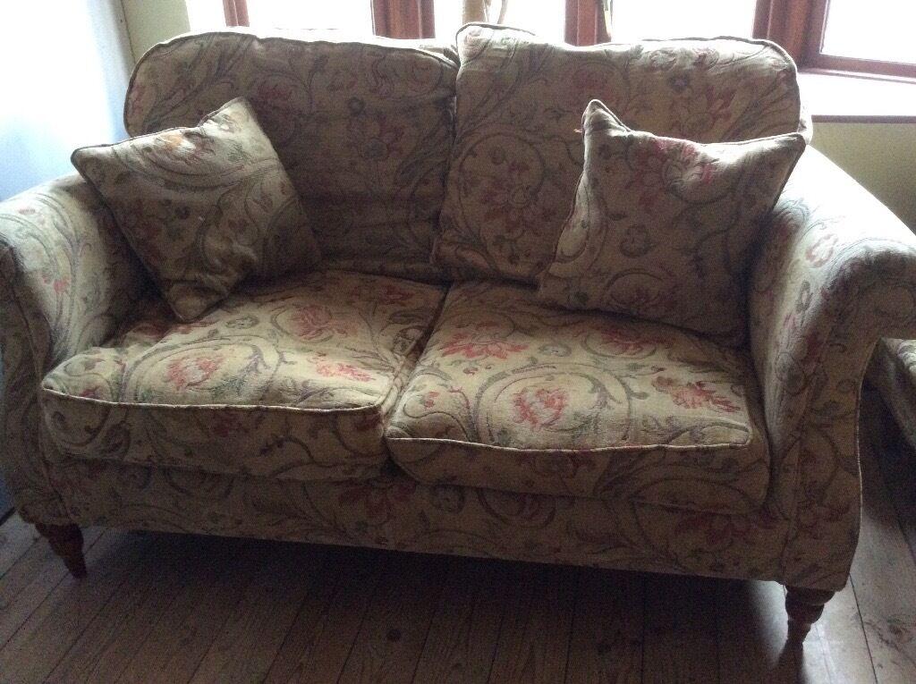 Two Classic Derwent Canterbury 3 Seater Sofa