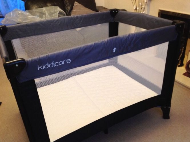 Kiddicare Travel Cot With Mattress