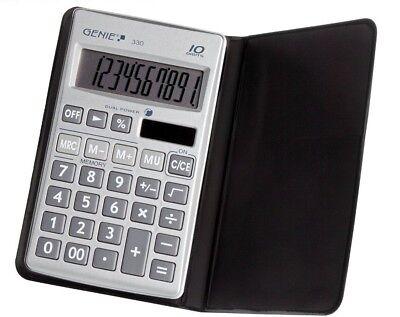 GENIE 330 Solar Taschenrechner Rechenmaschine Rechner Bürorechner Tischrechner