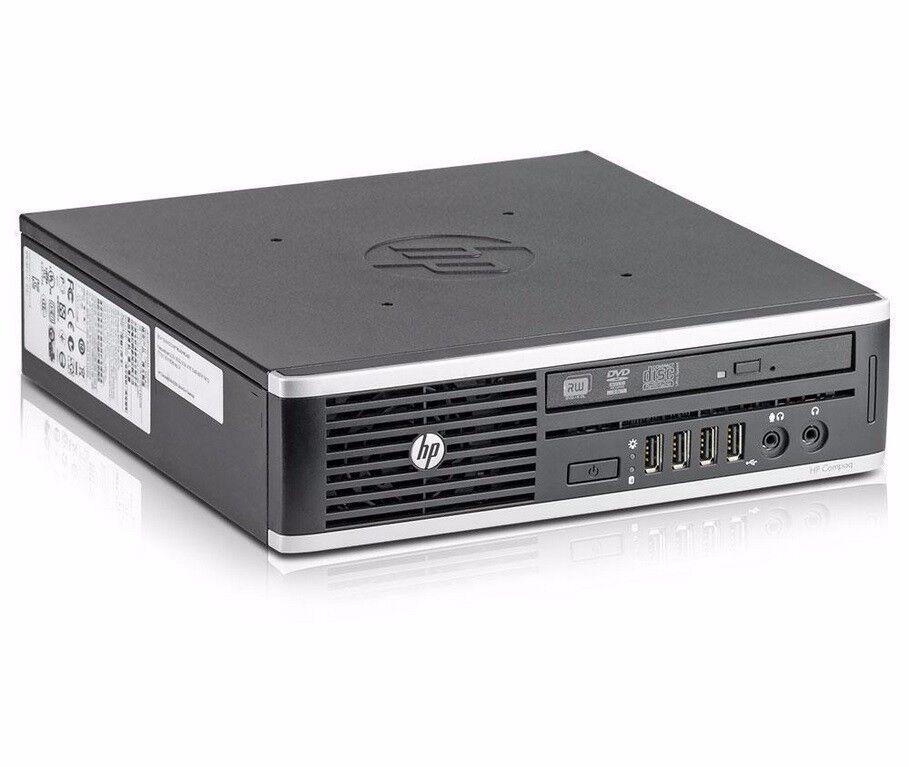 HP Compaq 8200 Elite usdt Core i5-2400s 2,5 GHz 4GB 320GB Win7 Mini-PC +Netzteil