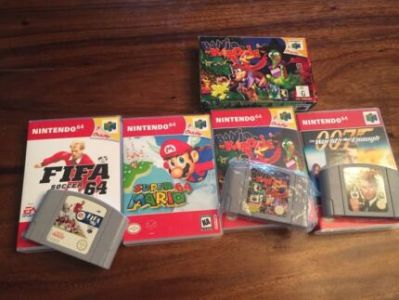 Nintendo 64 Games N64   Video Games   Gumtree Australia Whittlesea     Nintendo 64 Games Assortment