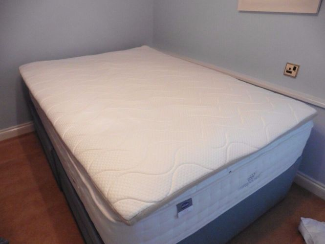 Supreme Double Memory Foam Mattress Topper Standard Size