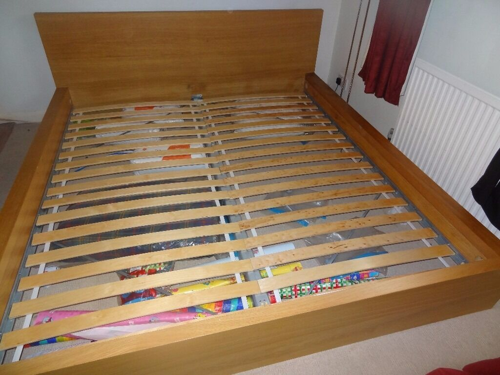 Ikea Malm Super King Size Bed Frame