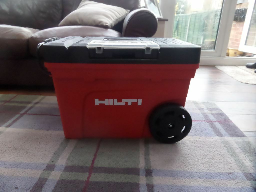 Brand New Hilti Tool Chest Box With Wheels In Morden