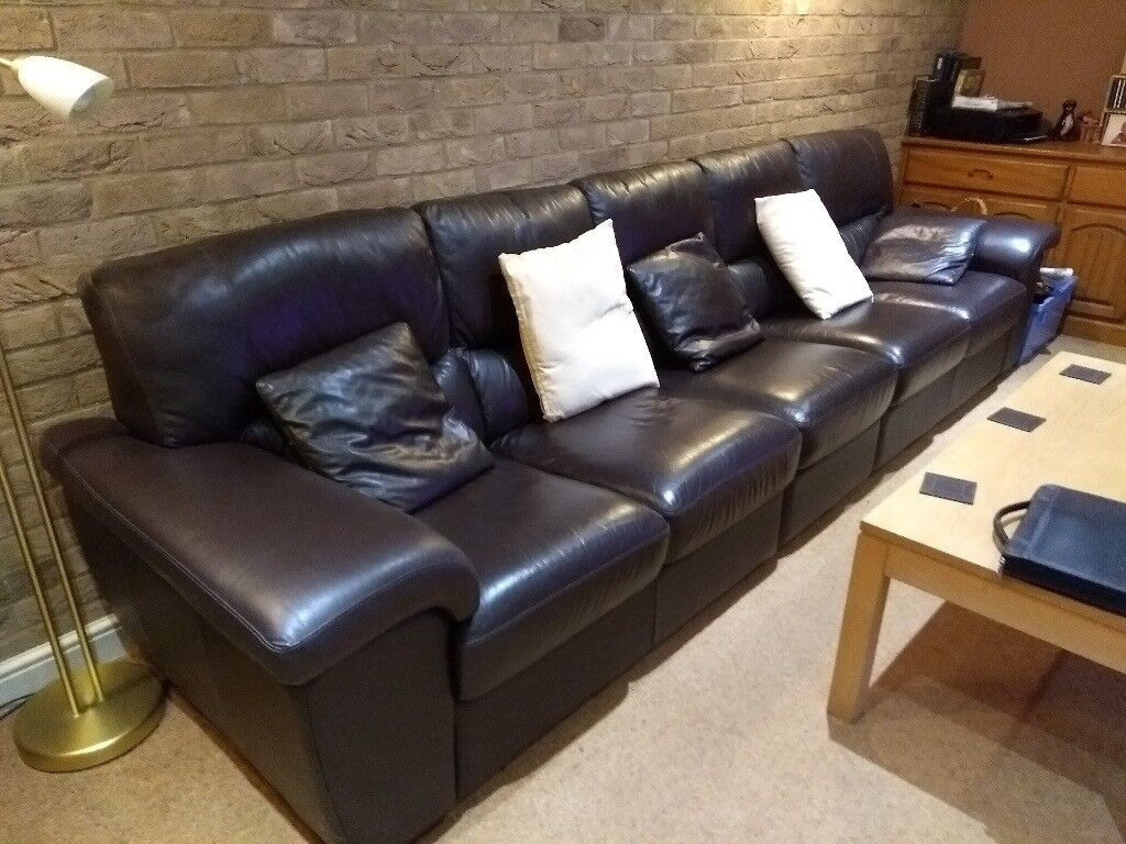 Sofa Village Chenille Fabric Leather Sofas Chairs Contour