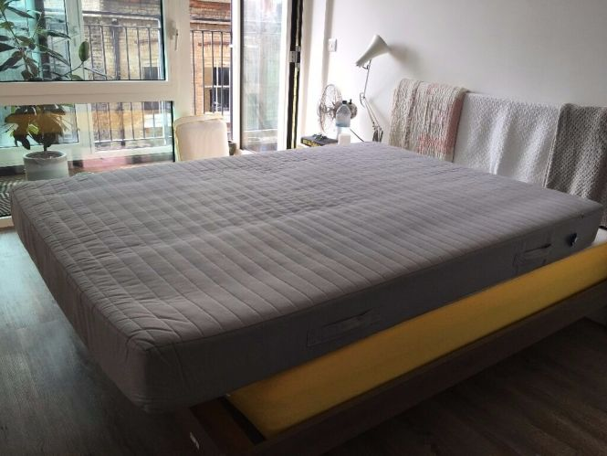 Ikea Sultan Huglo Mattress Size Uk Double Lightly Used Clean