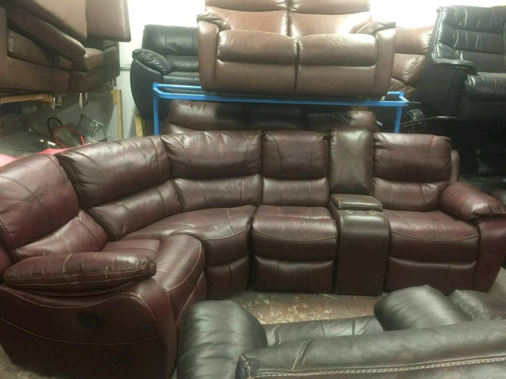 4 Seater Reclining Corner Sofa With Cup Holders In Rochdale Manchester Gumtree