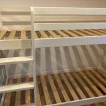 Sold Children S White Bunk Beds 180l X 80w 2 Free Mattresses If Required In Emsworth Hampshire Gumtree