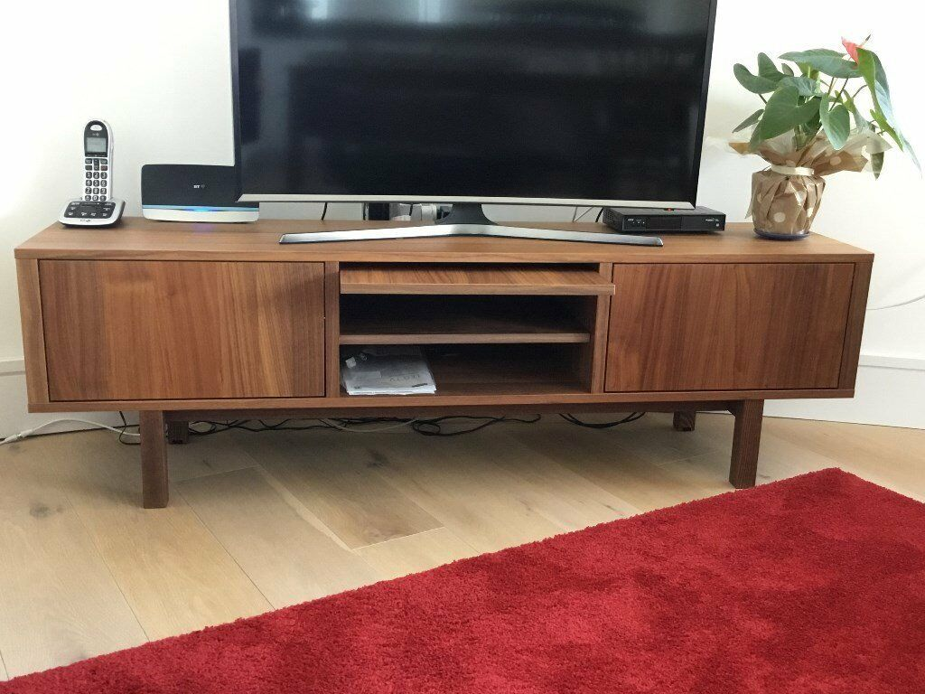 IKEA Stockholm TV Bench In Walnut Veneer In London Gumtree