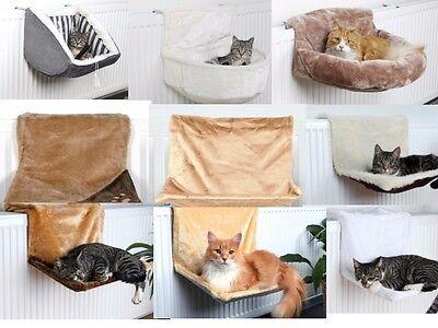Hängematte Katzen für Heizung Katzenbett Heizungsliege Liegemulde Kuschelsack