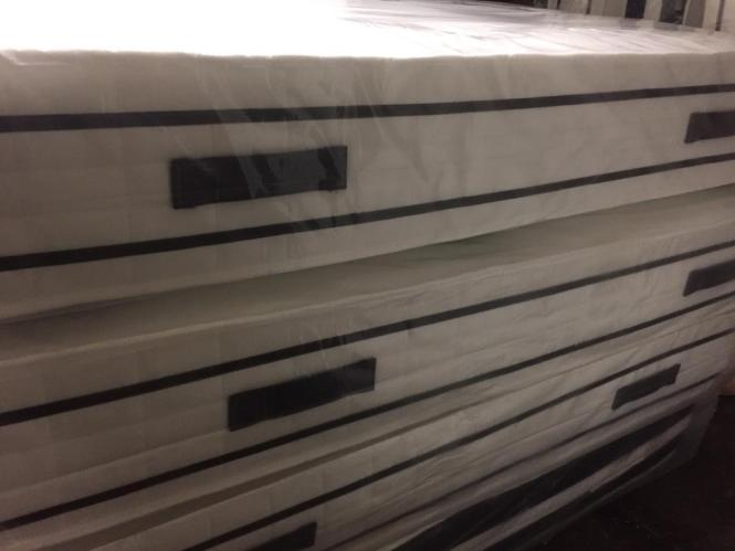 Brand New Orthopaedic 2000 Pocket Sprung Mattress Single Double King Size Bed