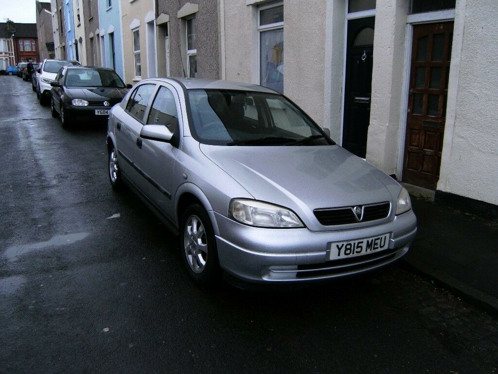 2001 Vauxhall Astra Mk4 1 6 8v Club Silver Reduced Price