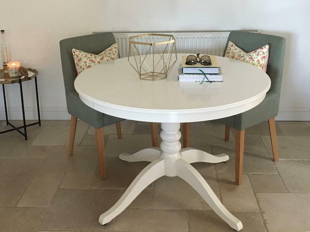 Ikea White Extendable Dining Table 2019 Color Trends