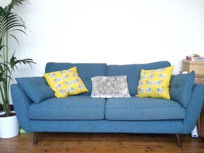 dfs teal sofa. Black Bedroom Furniture Sets. Home Design Ideas