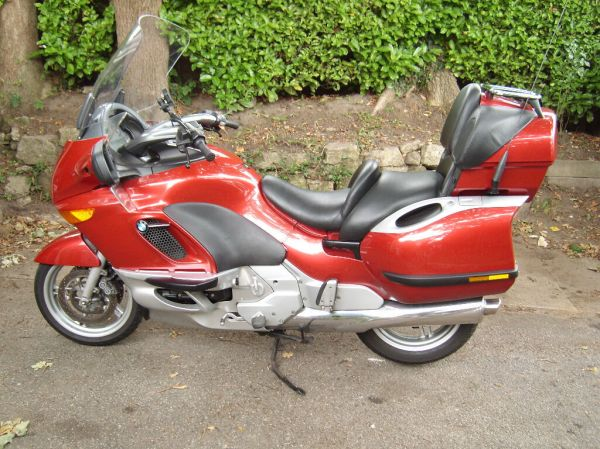 BMW K1200LT in Custom red metallic   in Verwood, Dorset ...