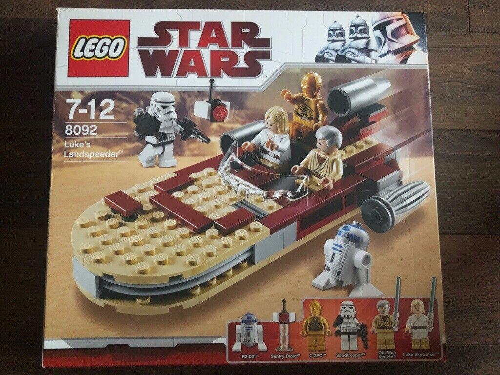 Lego Star Wars Lukes Landspeeder 8092 In Houghton Le Spring Tyne And Wear Gumtree