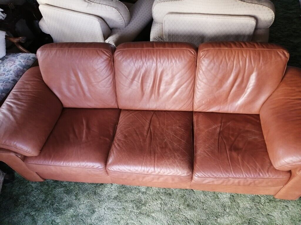 We explain how and compare the best share dealing platforms. Natuzzi (Italian) Tan Leather 3-seater sofa. In good ...