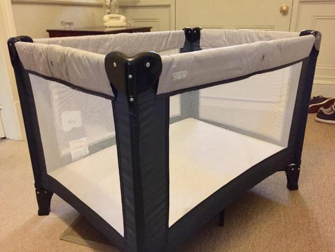 Kids Travel Cot And Separate Foam Mattress