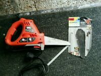 Black And Decker Scorpion Power Saw With Spare Blades