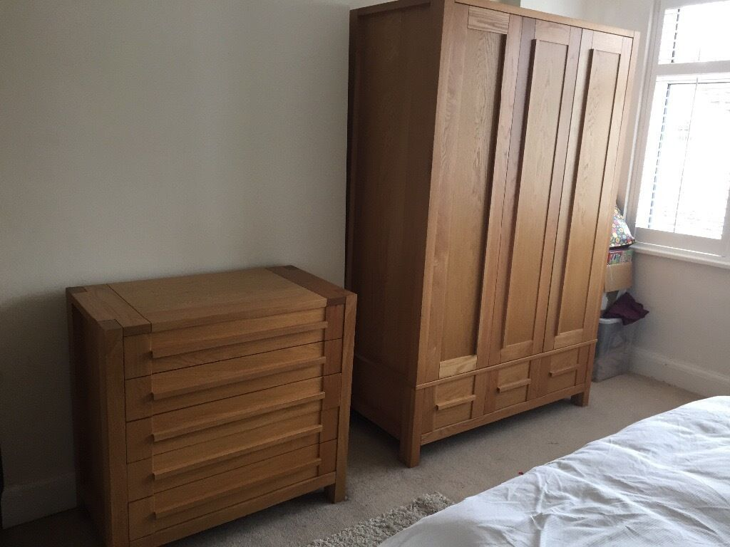 Bedroom Furniture M Amp S Sonoma Light Oak Range Triple