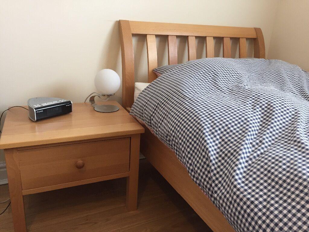 Aspace Children S Bedroom Furniture Beech Bed Frame