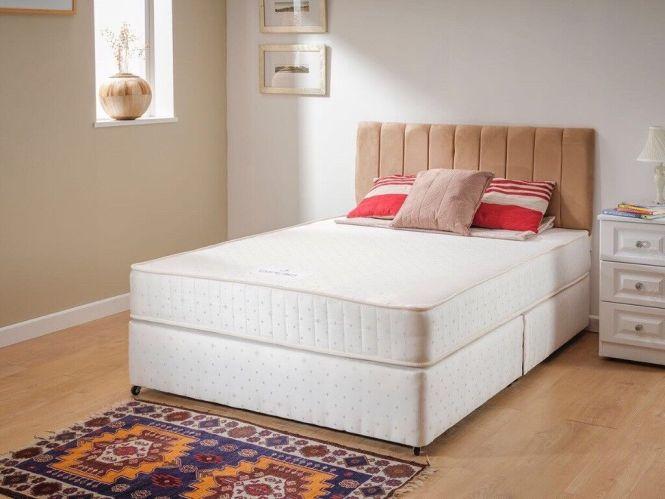 Brand New Double Divan Bed Orthopedic Mattress